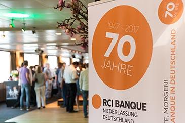 70 JAHRE RCI BANQUE – ein Mega-Jubiläum in Neuss